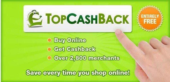 返利网站topcashback介绍注册使用教程
