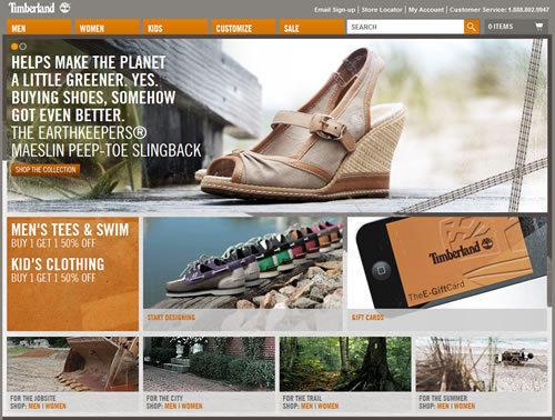 美国海淘网站:Timberland.com 天木兰美国官网