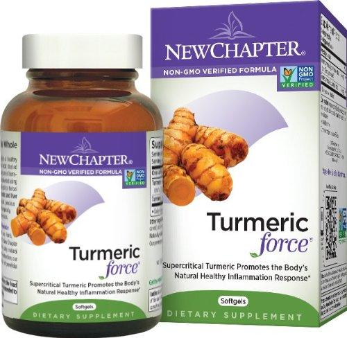 护肝保健品,New Chapter Turmeric Force Softgels 新章有
