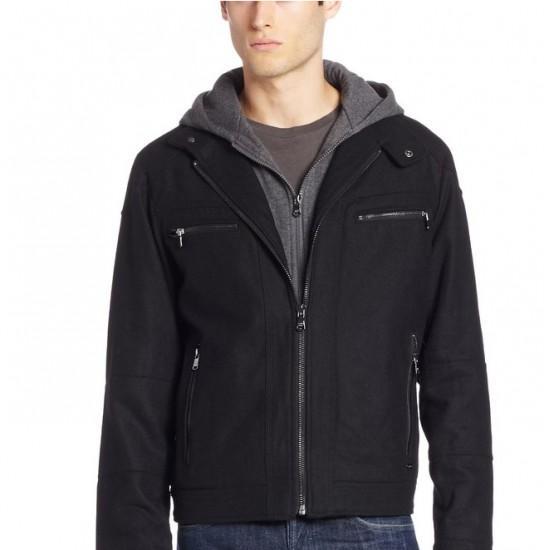 Calvin Klein CK男士羊毛夹克