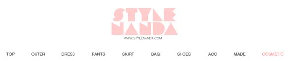 Stylenanda海淘攻略:官网网站购物流程