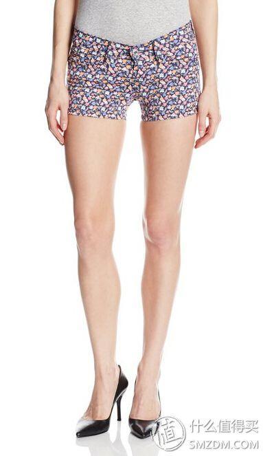Levi's 李维斯 Mid Length Short 女士牛仔热裤