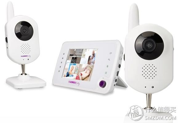 Lorex BB3521 双摄像头 宝宝可视无线监护器