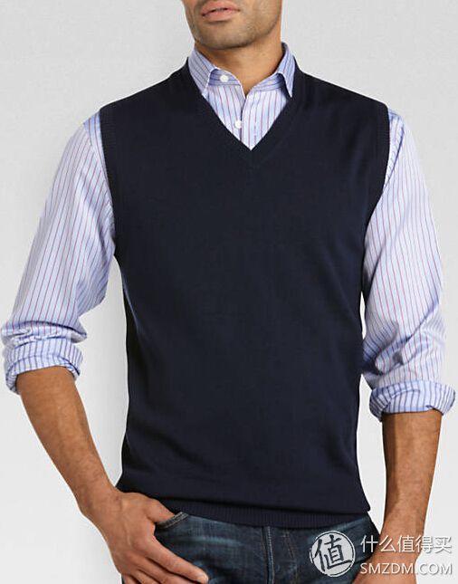 Calvin Klein Sportswear 男款美利奴羊毛衫背心
