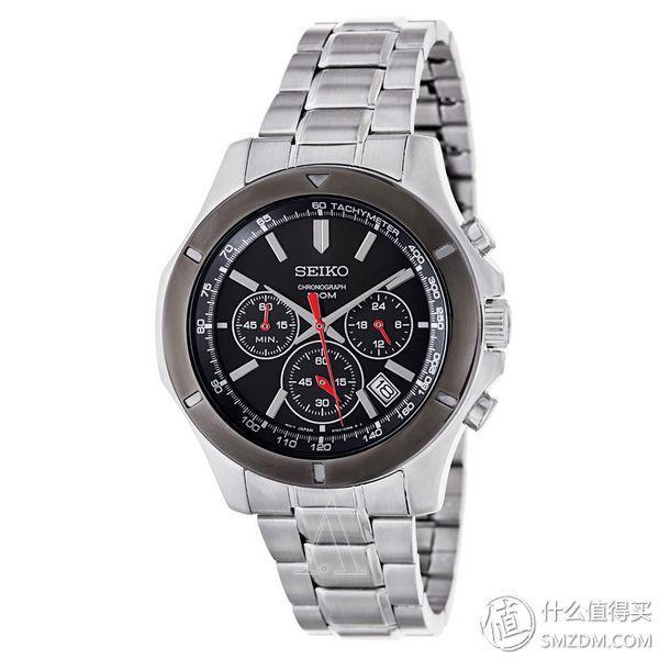 SEIKO 精工 SSB111 男款计时腕表